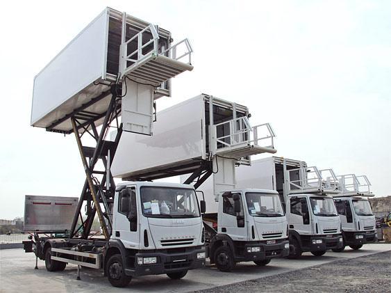 Эталонное шасси грузовика Eurocargo