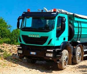 Самоскиди та спецавтомобілі Iveco Trakker