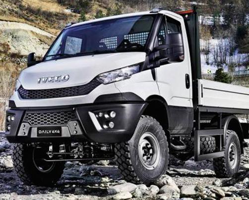 Полноприводные автомобили Iveco Daily