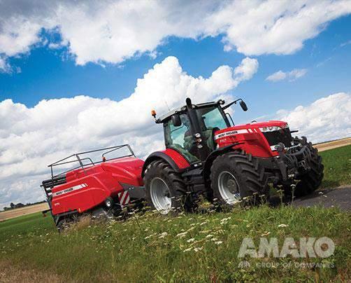 Трактор Massey Ferguson MF 8700