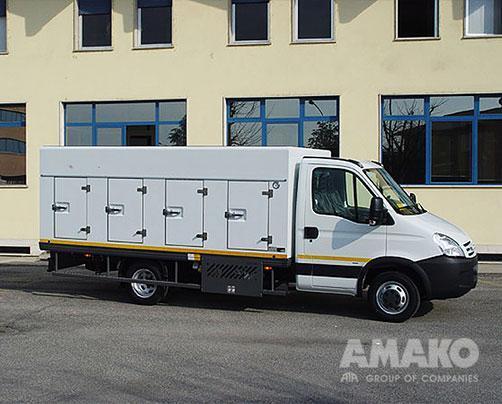Фургон мороженица на базе Iveco Daily