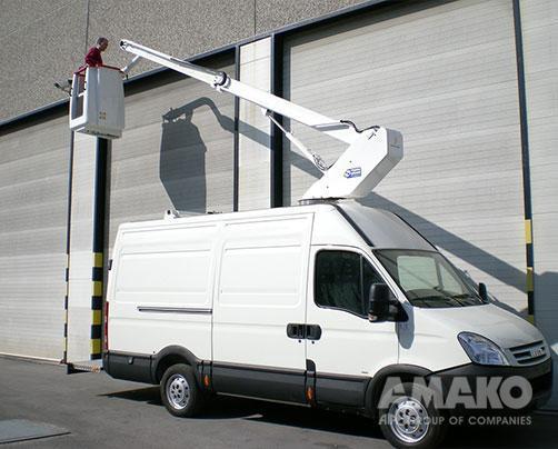 Автовишка EV130 на базі шасі IVECO New Daily 35S12VH2 2,3HPI