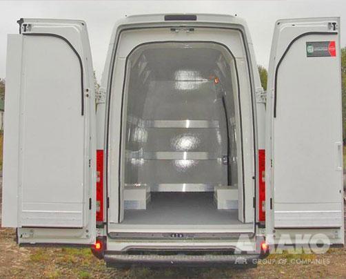 Авторефрижератор на базе грузового фургона IVECO New Daily