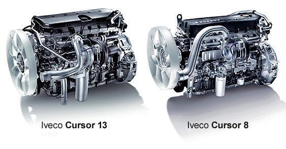 Двигатель Iveco Cursor 8 и двигатель Iveco Cursor 13