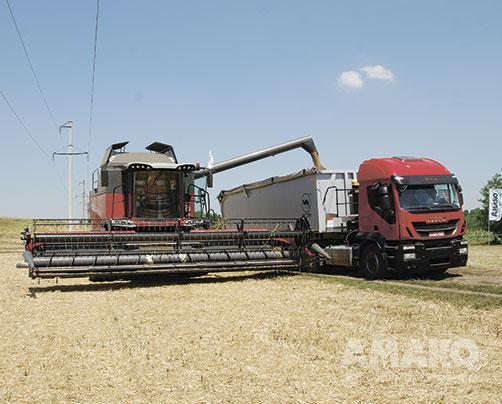 Зерноуборочный комбайн Massey Ferguson MF 7370 BETA