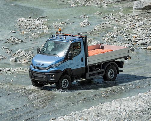 Полноприводный грузовой автомобиль Iveco Daily