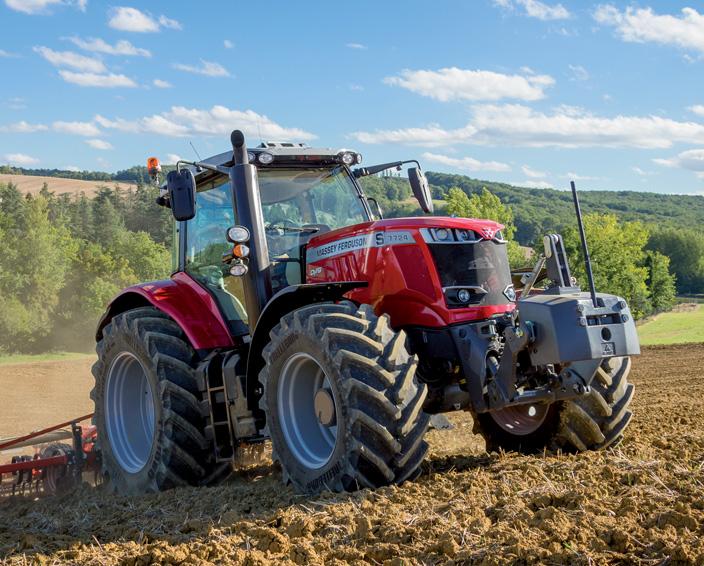 Трактор Massey Ferguson MF 7700S