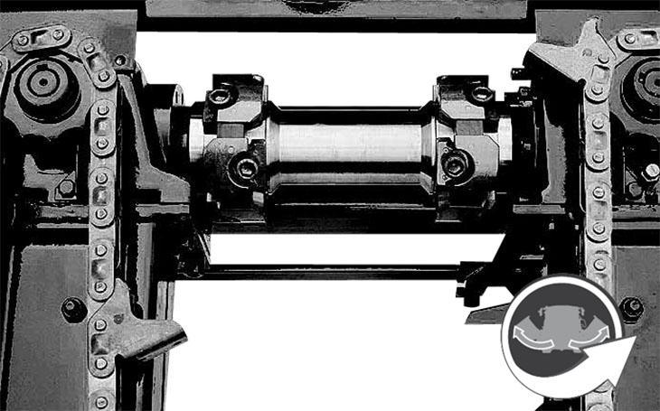 Мощная деталь : привод Geringhoff