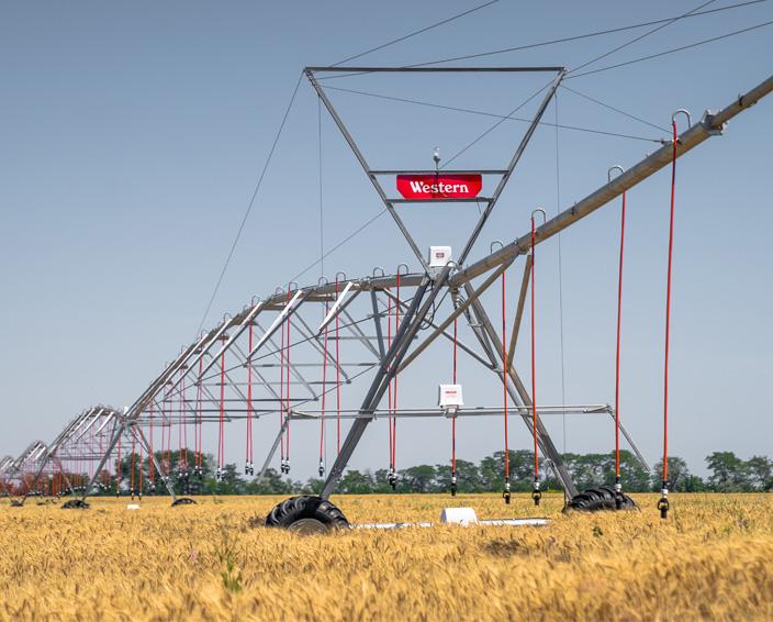 Кругові системи поливу Western Irrigation