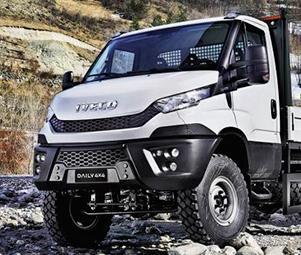 Полноприводные автомобили Iveco