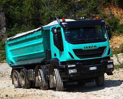 Самосвал Iveco Trakker AD 410T44