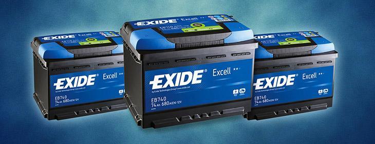 аккумуляторные батареи Exide фото