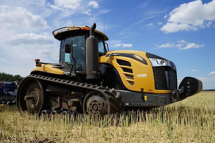 гусеничный трактор challenger mt 865e