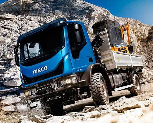 Полноприводные автомобили Iveco EuroCargo