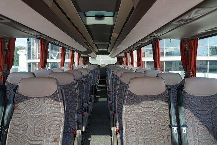 салон автобуса IVECO Magelys