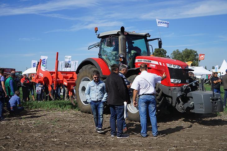 трактор Massey Ferguson 7724