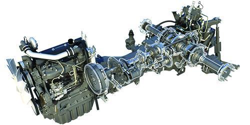 турбований двигун AGCO Power AP44w