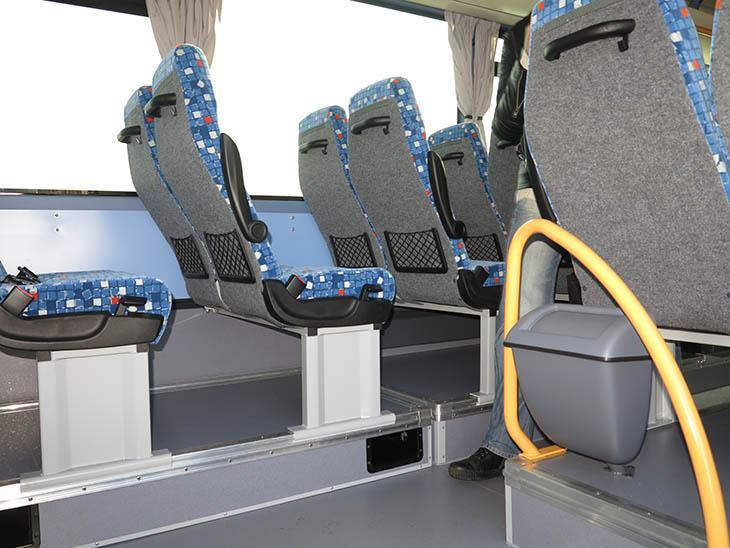 фото внутри автобуса IVECO Crossway