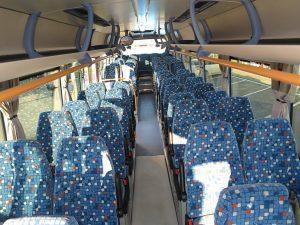 сидячие места в автобусе IVECO Crossway фото