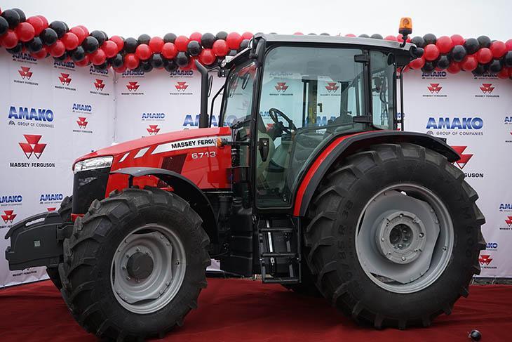 Трактор MF 6713 фото