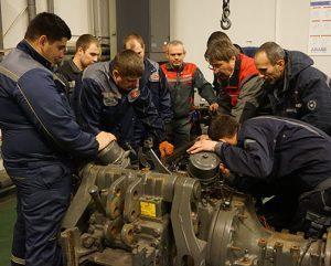 обучение сервисных инженеров в АМАКО фото
