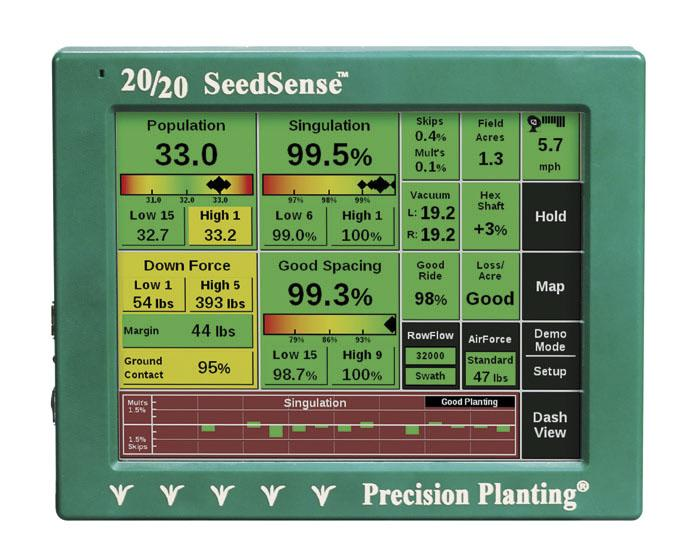 Монітор 20/20 SeedSense
