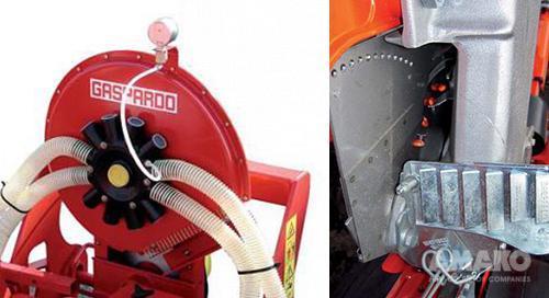 вакуумная система прижима семян в сеялке MTR фото