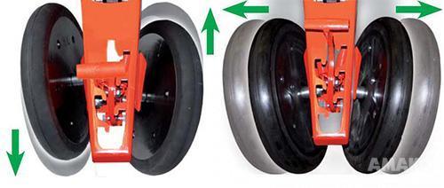 двухдюймовые прикатывающие колеса сеялки MTR картинка