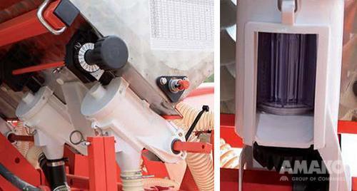 система внесения удобрений на сеялке MTR картинка