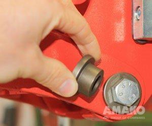 втулки на сеялке MTR фото
