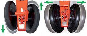 однодюймовые прикатывающие колеса сеялки Romina фото