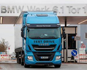BMW Group выбирает автомобили ИВЕКО фото