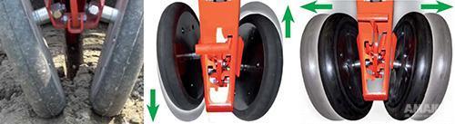 прикатывающие колеса сеялки Гаспардо картинка
