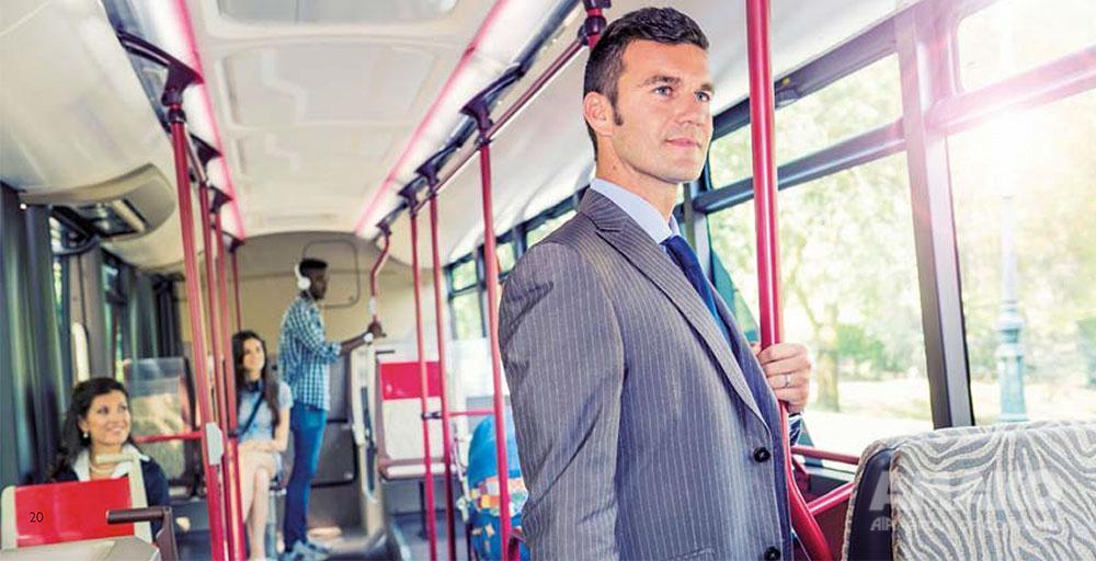пассажирский салон автобуса картинка