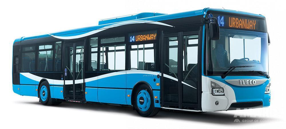 современный автобус IVECO Urbanway фото