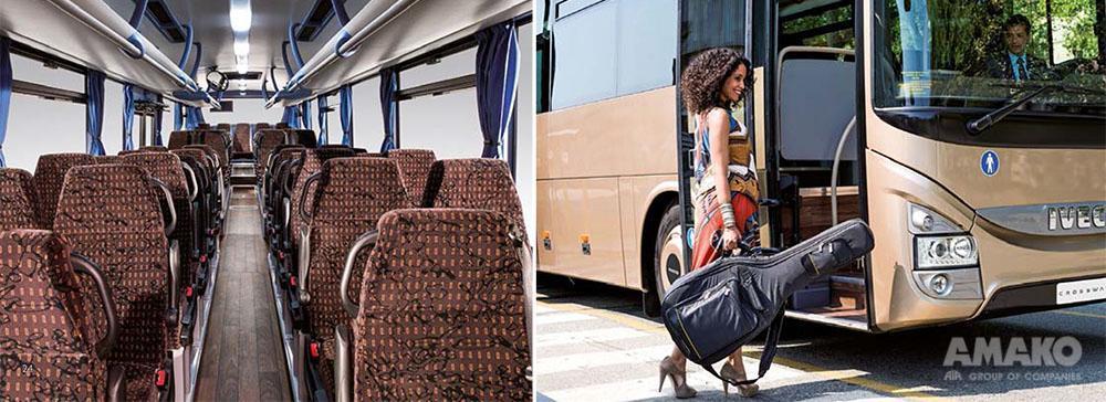 новый универсальный автобус Crossway фото
