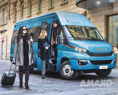 Мікроавтобус IVECO DAILY