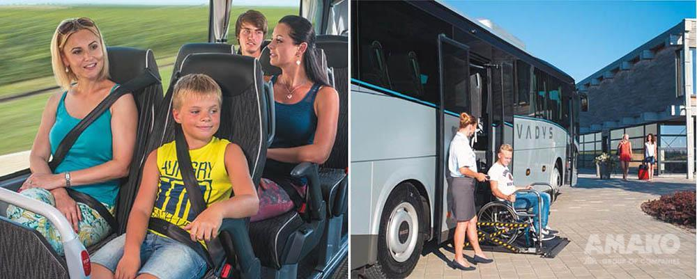 комфортный автобус IVECO Evadys фото