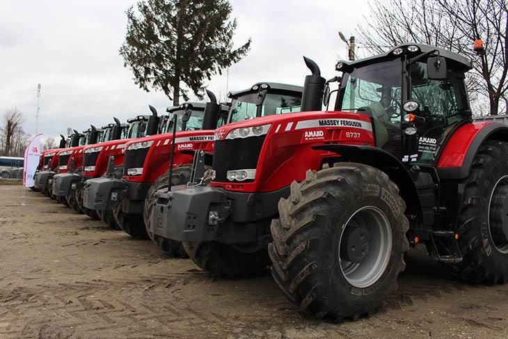 трактора Massey Ferguson 8737 фото