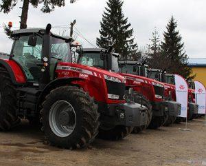 MF 8737 передача тракторов фото