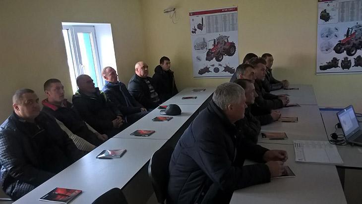 операторы южноукраинских хозяйств на обучении фото