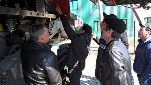 обучающий тренинг для операторов комбайнов фото