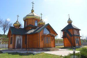 церковь в с.Плоском Одесской обл. фото