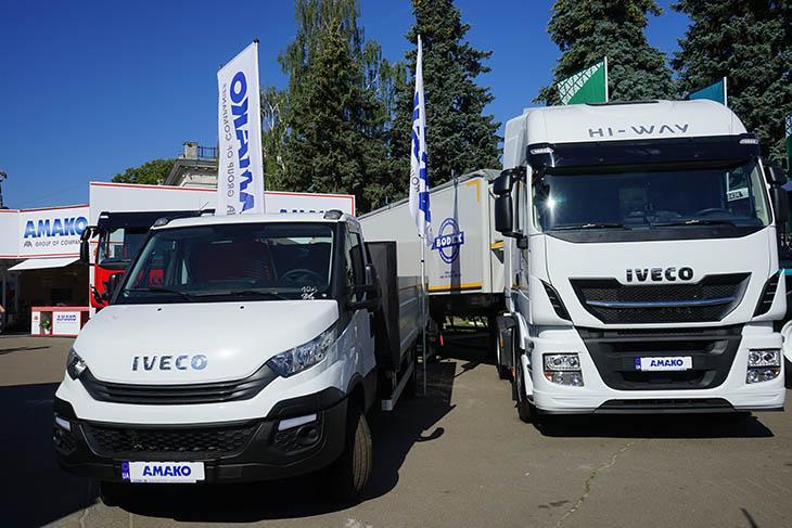 IVECO Daily и IVECO Stralis фото