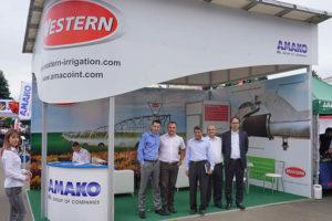 Компания АМАКО на выставке АГРО-2018