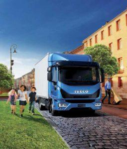 Eurocargo грузовик для города