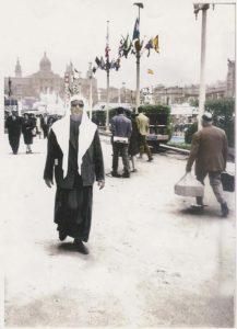 Основатель Абдулла Аль-Хариф на выставке в Испании