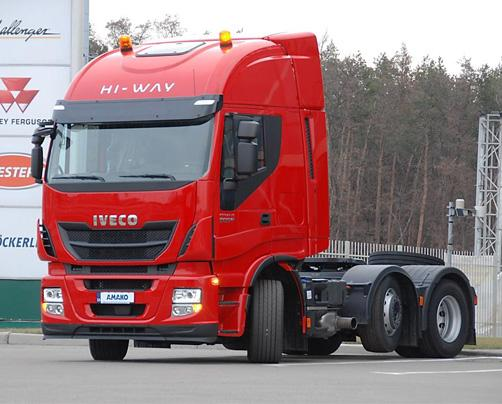 IVECO Stralis HI-WAY AS440S50TXP (Сідловий тягач 6×2)