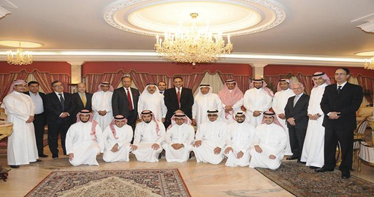 Два поколения компании Учредителей Alkhorayef
