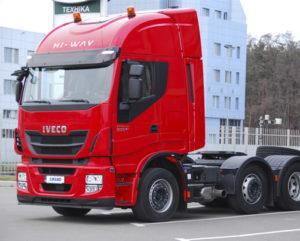 Автомобиль IVECO Stralis с кабиной HI-WAY